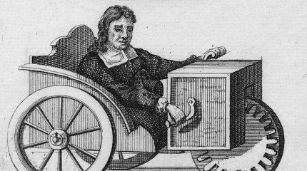 Kaip buvo sukurtas neįgaliųjų vežimėlis ir kuo čia dėtas laikrodis