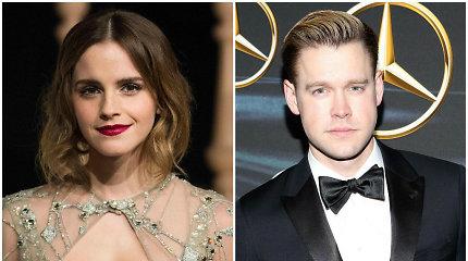 """Emma Watson išsiskyrė su serialo """"Choras"""" žvaigžde Chordu Overstreetu"""