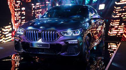 """Frankfurte parodyti BMW deimantai – jau Lietuvoje: BMW X6 ir 8 serijos """"Gran Coupe"""""""