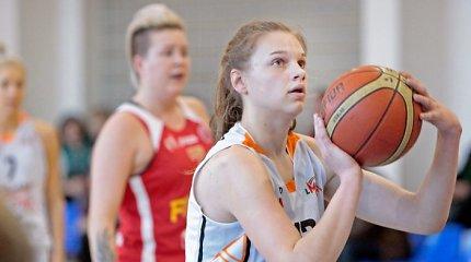 Geriausia LMKL jaunoji žaidėja – Laura Juškaitė