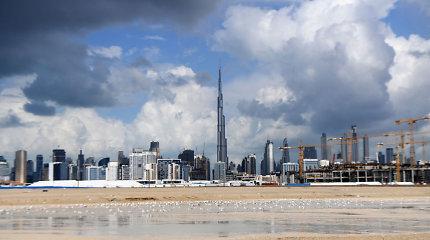 Dubajaus oro uoste dėl potvynio atšaukta kelios dešimtys skrydžių