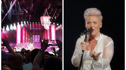 Koncertuodama Varšuvoje Pink priminė, kad yra kilusi iš Lietuvos: gavo dovanų iš tautiečių