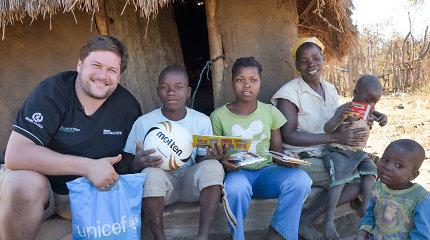 """UNICEF vaikų bėgimo ambasadorius Merūnas Vitulskis: """"Man sakė – iš tavęs nieko gero nebus"""""""