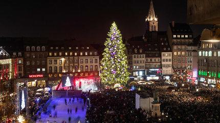 Strasbūre atsidaro garsioji kalėdinė mugė, prieš metus tapusi užpuoliko taikiniu