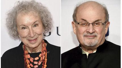"""Į prestižinę """"Man Booker"""" premiją taikosi literatūros vilkai Margaret Atwood ir Salmanas Rushdie"""