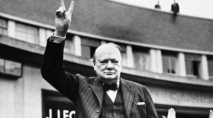 Lemiamos Antrojo pasaulinio karo akimirkos: garsiosios W.Churchillio kalbos buvo kuriamos ir vonioje