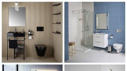 Mažo vonios kambario iššūkiai ir kaip juos sprendžia ekspertai