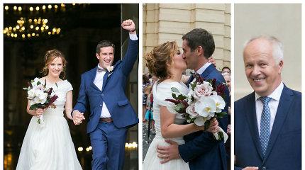 "Ištekėjo Vlado Lašo dukra Dalia Lašaitė: su mylimuoju Ignu iškėlė ""kosmines"" vestuves"