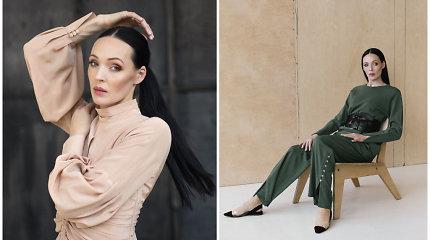 """Drabužių kolekcijos veidu tapusi balerina Beata Molytė: """"Tikroji prabanga yra paprastumas"""""""