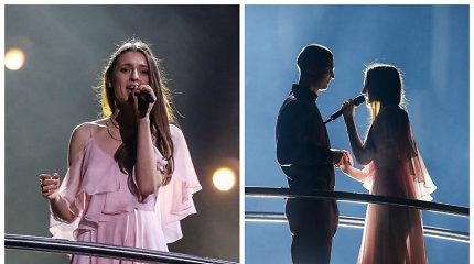 """Lietuva – """"Eurovizijos"""" finale: I.Zasimauskaitė su daina apie amžiną meilę išpildė savo svajonę"""