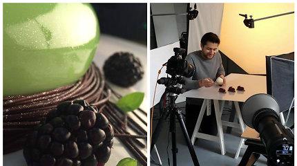 Konditeris Ali Gadžijevas išleis meninę šokolado receptų knygą