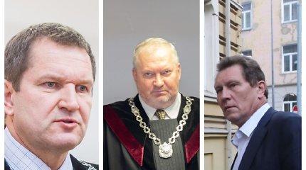Teismų korupcijos byloje į laisvę paleisti trys teisėjai ir vienas advokatas