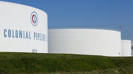 """JAV susigrąžino daugiau nei pusę """"Colonial Pipeline"""" sumokėtos išpirkos"""