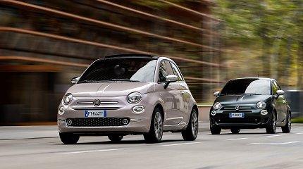 """""""Fiat"""" atskleidė artimiausių metų strategiją – eis pramintais takais, bet kur kas agresyviau"""