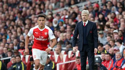 "A.Wengeras neslepia – ""Arsenal"" gali prarasti A.Sanchezą su M.Ozilu"