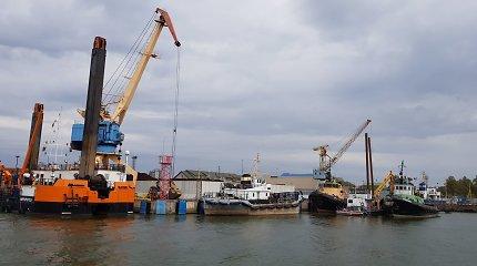 Klaipėdos uoste sužalotas darbininkas iš Ukrainos