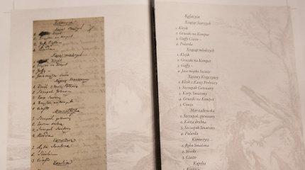 Ant nušiurusio lapelio – tikslus meniu: ką Radvilos valgė 1783-iųjų sausio 19 dieną?