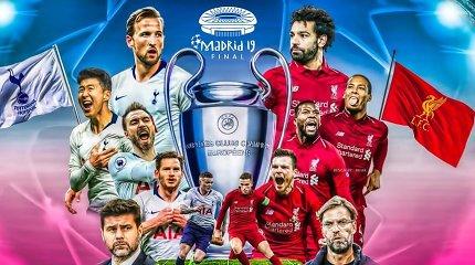 """Čempionų lygos finalas: """"Liverpool"""" ar """"Spurs""""?"""