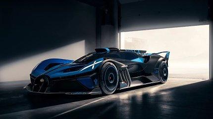 """Pristatytas """"Bugatti"""", kokio dar nematėte: žvėriška galia ir neįtikėtinas greitis"""