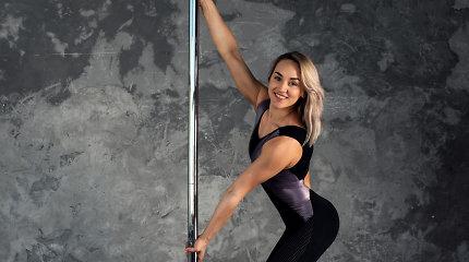"""""""Pole dance"""" trenerė Ilona Radavičiūtė: """"Šis šokis nėra susijęs su striptizu"""""""
