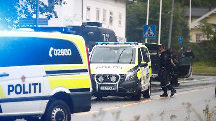 Mečetėje prie Oslo aidėjo šūviai, įtariamasis sulaikytas