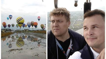 """Oro balionai Giedrių Leškevičių """"nuskraidino"""" iki Japonijos mokytis iš geriausių"""