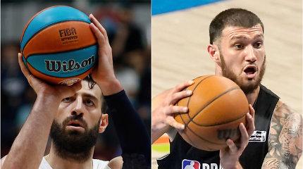 """Kartvelų siautulys NBA ir Eurolygoje: 20 taškų į """"Nets"""" krepšį ir turo MVP titulas"""
