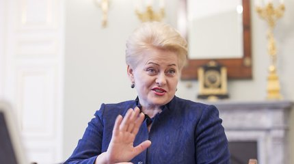 """Exclusive interview with Lithuanian President Dalia Grybauskaitė: """"I am a little ashamed"""""""