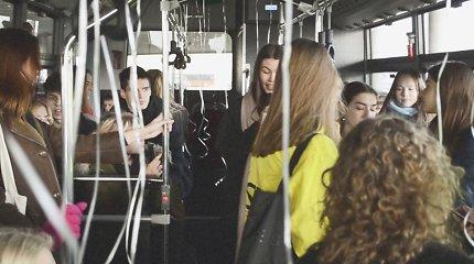 Viešajame transporte Kaune ir už jo ribų spalį skambės poezija