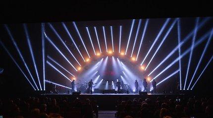 """""""Pink Floyd"""" muzikos šou """"Brit Floyd"""" turą Lietuvoje pradėjo anšlaginiu koncertu Palangoje"""