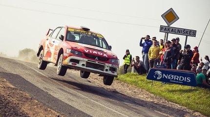 """Permainingame Elektrėnų ralyje """"Viada-Multi FX"""" komanda iškovojo antrąją vietą"""