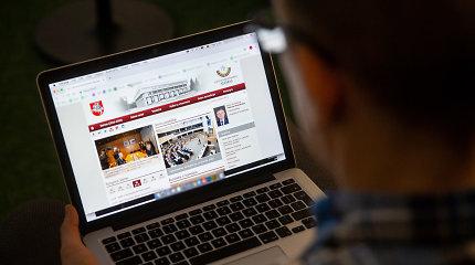 Seimo interneto svetainė bus pritaikyta išmaniesiems įrenginiams