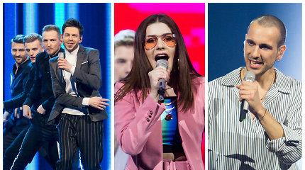 """Paaiškėjo pirmieji """"Eurovizijos"""" finalininkai: tai – J.Brūzga, K.Juodzevičiūtė, """"The Roop"""""""