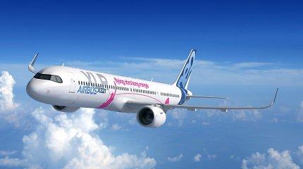 """Prie neseniai pristatyto """"Airbus A321XLR"""" rikiuojasi pirkėjų eilė – kuo šis lėktuvas ypatingas?"""