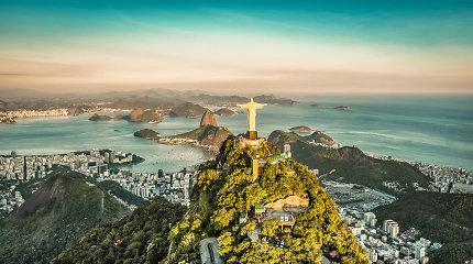 Brazilijos centrinis bankas sumažino bazines palūkanas iki rekordiškai žemo lygio
