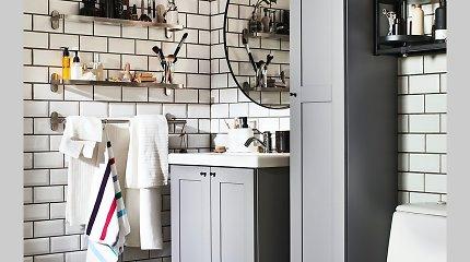 Interjero dizainerė pataria, kaip įsirengti vonios kambarį sodyboje už 136 eurus