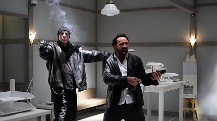"""Nicolas Cage'as yra radioaktyvus siaubo trilerio """"Šmėklų žemės kaliniai"""" anonse"""