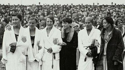 R.Meilutytės pirmtakė: kaip 1928 m. 17-metė JAV lietuvė tapo olimpine čempione