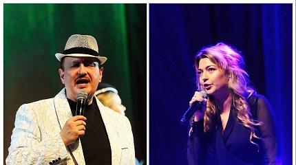 Simonas Donskovas švenčia jubiliejų: scenoje – ir mylima duktė, kuriai jis dainuoti nelinkėjo