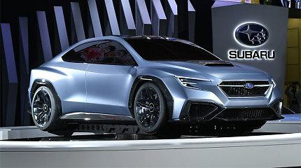 """""""Subaru"""" naujienos Tokijuje – """"greitiems ir įsiutusiems"""""""