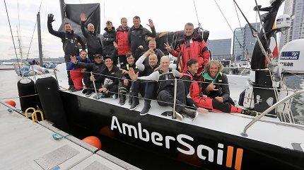 """""""Ambersail2"""" ir """"Sailing Poland"""" lenktynės Baltijos jūroje"""