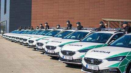 Klaipėdos krašto pareigūnai praturtėjo 15 naujų automobilių