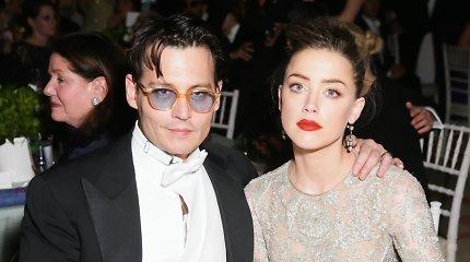Netikėtas posūkis Johnny Deppo ir Amber Heard skyrybų istorijoje: iš tiesų smurtautoja buvo ji?