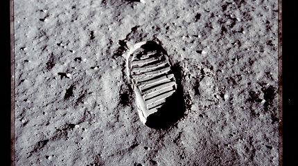 """""""Mokslo sriuba"""": kiek kartų žmonės lankėsi Mėnulyje?"""