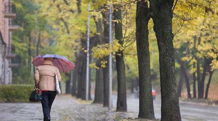 Orų prognozė: rugsėjis pasibaigs su lietumi, spalis ateis su vėsa