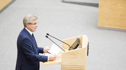 Seimo pirmininko komandoje – eksparlamentarė Laima Mogenienė