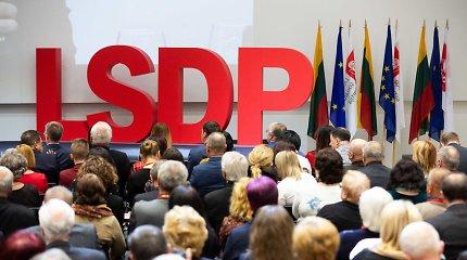 Balsavimas dėl partnerystės supurtė LSDP: kitaminčius bandys perkalbėti