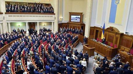 Nuo imtynininko iki kokso gamyklos direktoriaus – Ukrainos Aukščiausioji Rada turės naują veidą