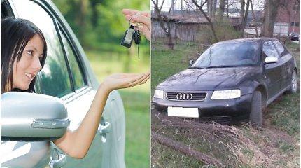 """Kaip negalima pirkti naudoto automobilio, kad netektų aiškintis teisme: """"Audi A3"""" byla Panevėžyje"""