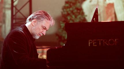 Valstybės vadovai sveikina pianistą Petrą Geniušą 60-ojo jubiliejaus proga